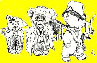 Boffee Bears show publicity