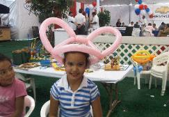 Fun balloon hats for all ages