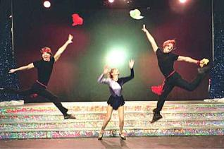 Juggling act  for Hollywood theater show