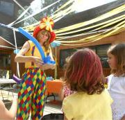 Clown balloon twister